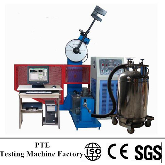 JBDW-500 Computer Screen Display Pendulum Impact Testing Machine with super low temperature chamber
