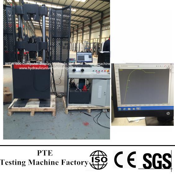 WEW-600D Computer Display Hydraulic Universal Testing Machine
