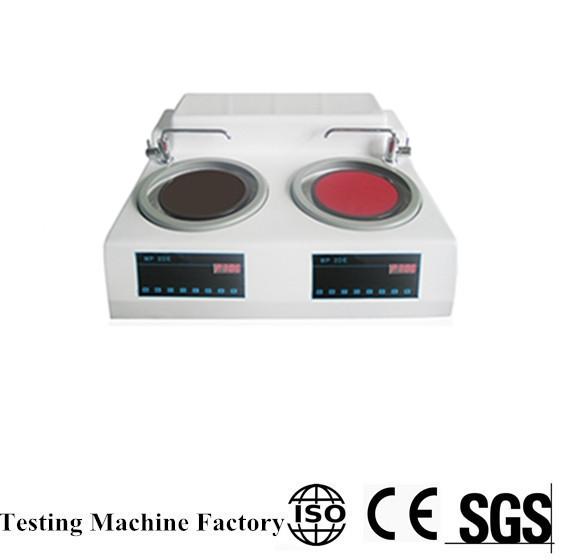 MP-2DE Metallographic sample grinding and polishing machine