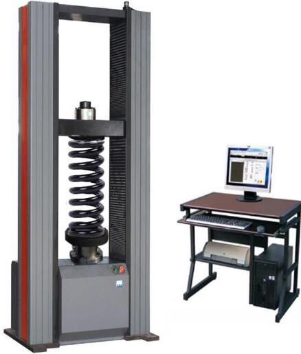 tensile testing machine compression spring