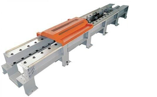 Computer Control Webbing Sling Wire Rope Horizontal Tensile Testing Machine, Wire Rope Testing Bed